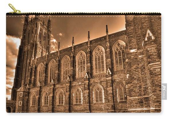 Duke Chapel Sepia Carry-all Pouch