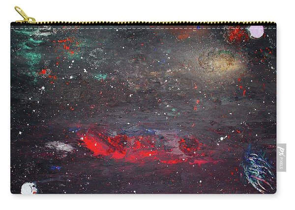 Carry-all Pouch featuring the painting Dulaity by Michael Lucarelli