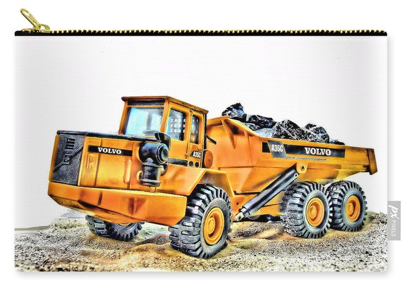 Volvo Dumper Truck Carry-all Pouch