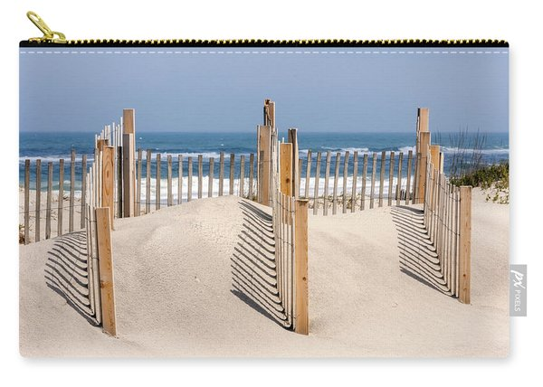 Dune Fence Landscape Carry-all Pouch