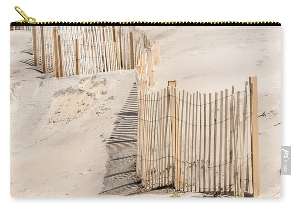 Dune Fence Portrait Carry-all Pouch