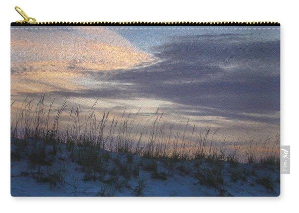 Dune Grass Blue Carry-all Pouch
