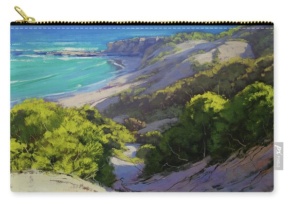 Dunes At Slodiers Beach Carry-all Pouch