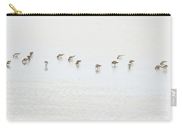 Dunlin Feeding, North Uist Carry-all Pouch