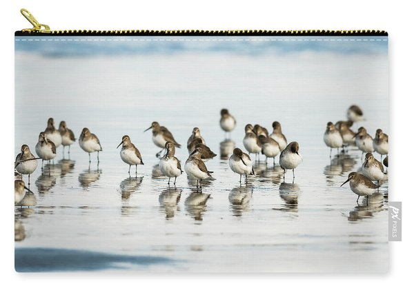 Dunlin Reflections Carry-all Pouch
