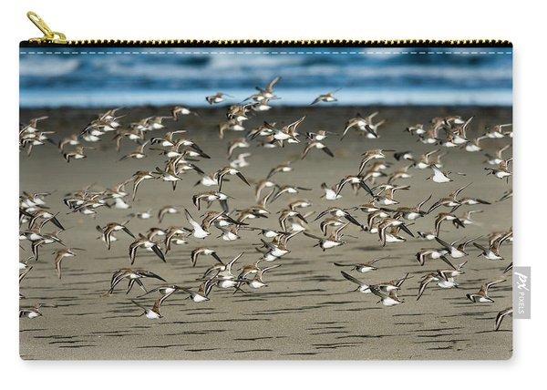 Dunlins And Shadows Carry-all Pouch