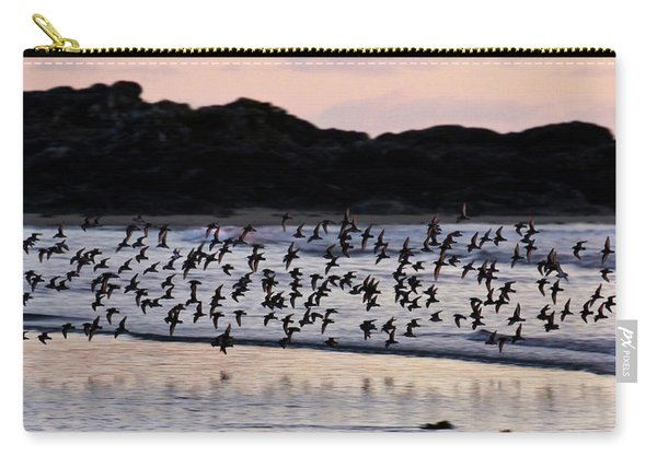 Dunlins In Flight Carry-all Pouch