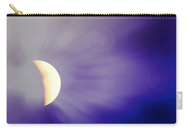 Aries Moon During The Total Lunar Eclipse 3 Carry-all Pouch