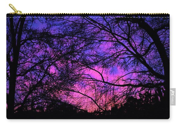 Dusk And Nature Intertwine Carry-all Pouch