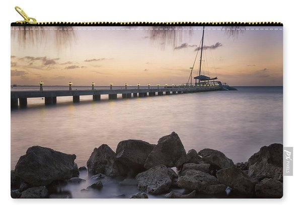 Dusk At Rum Point Grand Cayman Carry-all Pouch