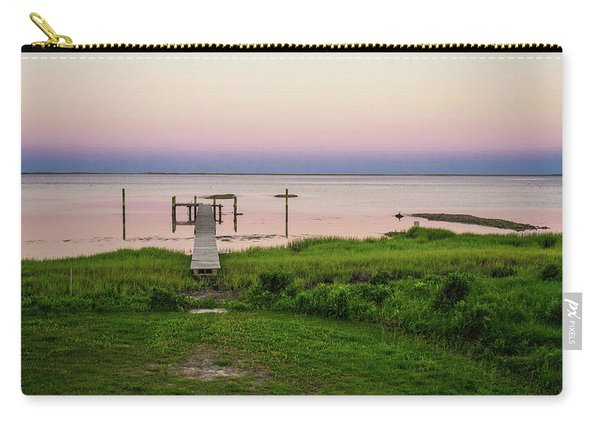 Dusk At Battle Point, Accomac, Virginia Carry-all Pouch