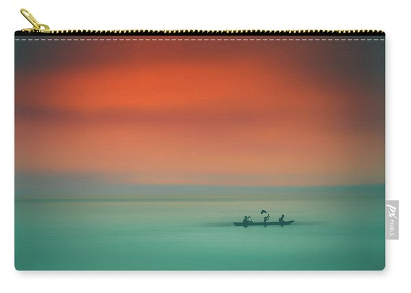 Dusk On The Lake Carry-all Pouch
