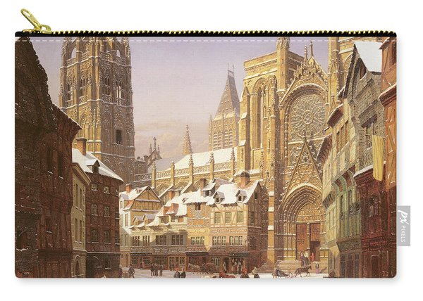 Dutch Cathedral Town Carry-all Pouch