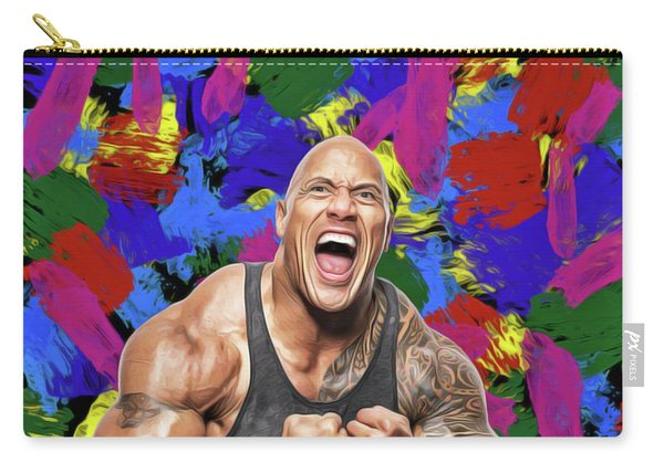 Dwayne Johnson Carry-all Pouch