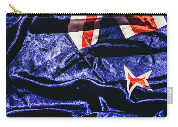 Dynamic Flag Of New Zealand Carry-all Pouch