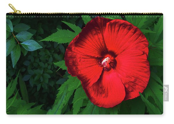 Dynamic Red Carry-all Pouch