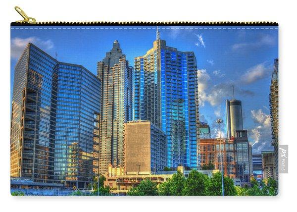 Dynamic Reflections Downtown Atlanta Georgia Art Carry-all Pouch