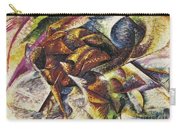 Dynamism Of A Cyclist Carry-all Pouch