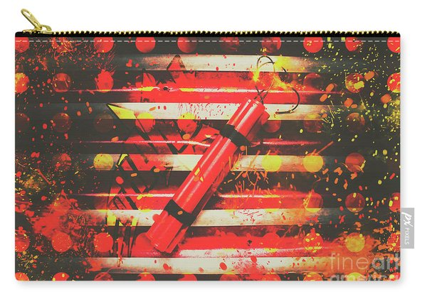Dynamite Artwork Carry-all Pouch