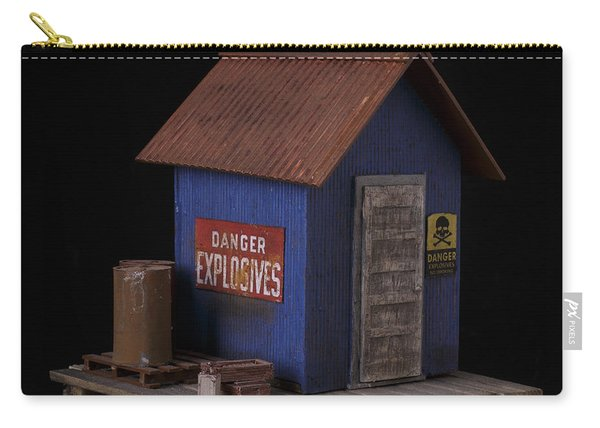 Dynamite Shack Original Sculpture Carry-all Pouch
