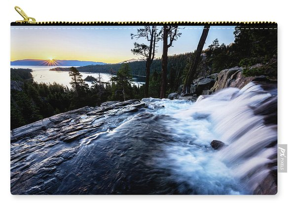 Eagle Falls At Emerald Bay Carry-all Pouch