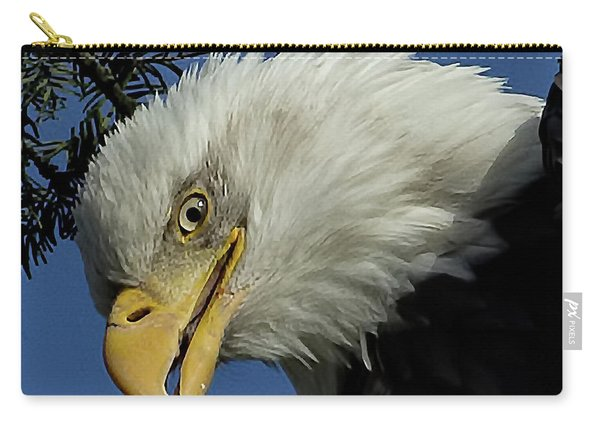 Eagle Head Carry-all Pouch