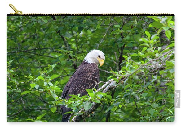 Eagle In The Tree Carry-all Pouch