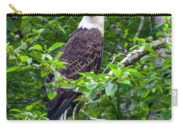 Eagle In Tree Carry-all Pouch