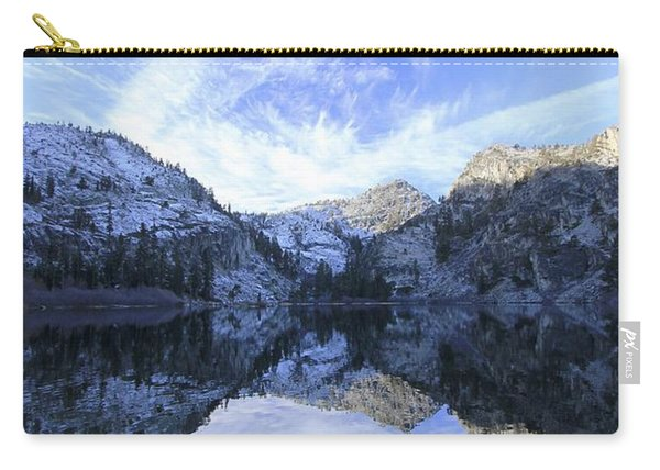 Carry-all Pouch featuring the photograph Eagle Lake Dawn by Sean Sarsfield