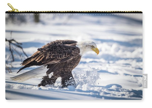 Eagle Out For A Stroll Carry-all Pouch