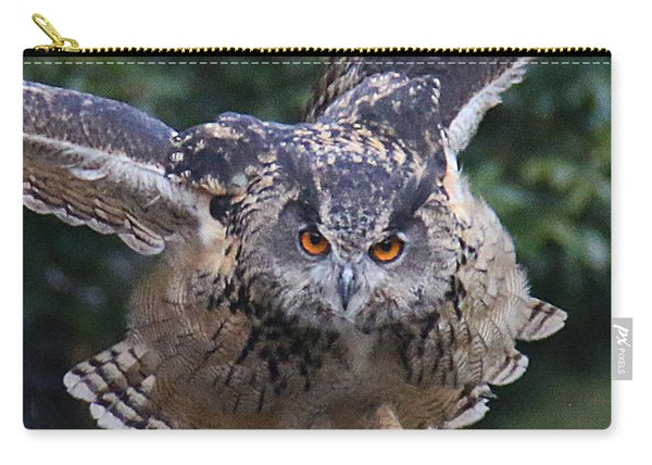 Eagle Owl Close Up Carry-all Pouch