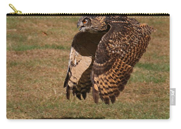 Eagle Owl On The Hunt 2 Carry-all Pouch