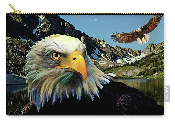 Eagles Lake Carry-all Pouch
