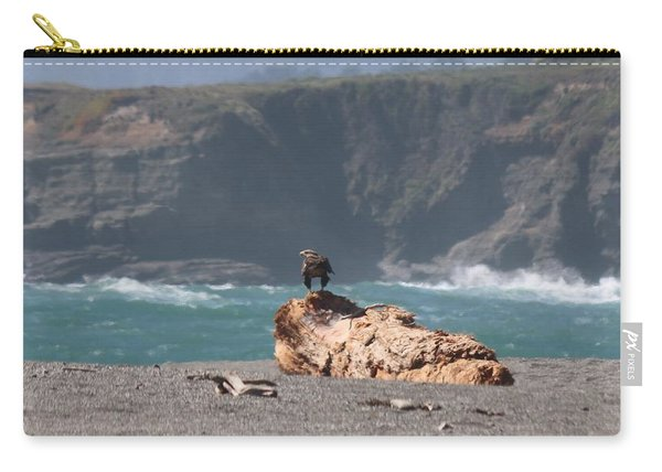 Carry-all Pouch featuring the photograph Eagle's Perch  by Christy Pooschke