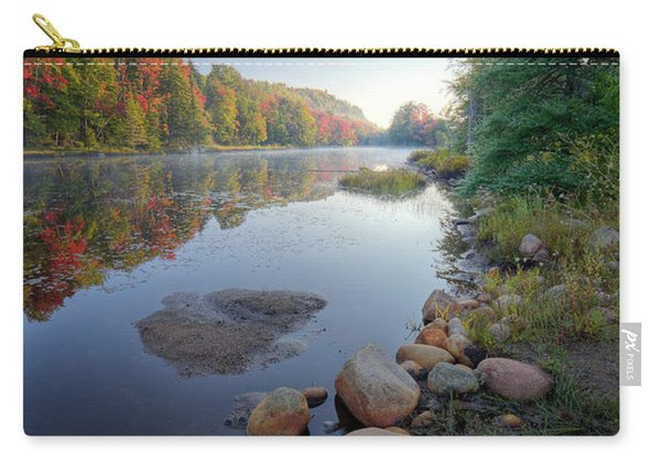 Early Color On Bald Mountain Pond Carry-all Pouch