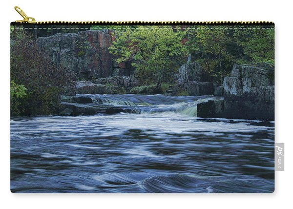 Early Fall At Eau Claire Dells Park Carry-all Pouch