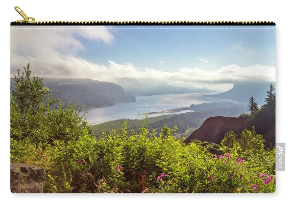 Early In Morning At Crown Point Oregon. Carry-all Pouch