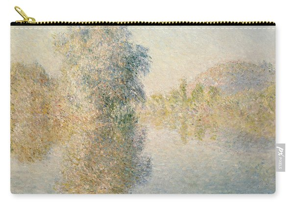 Early Morning On The Seine At Giverny Carry-all Pouch