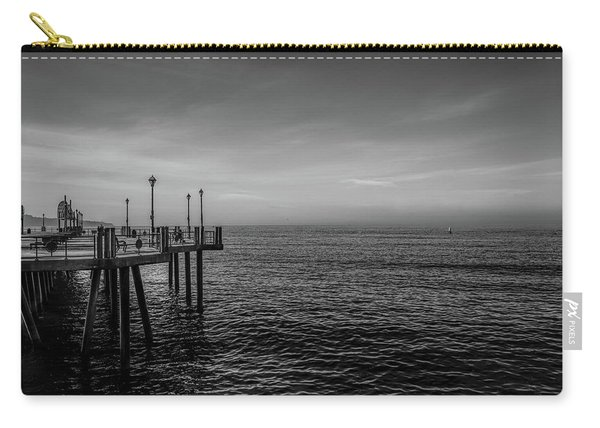 Carry-all Pouch featuring the photograph Early Morning Redondo By Mike-hope by Michael Hope