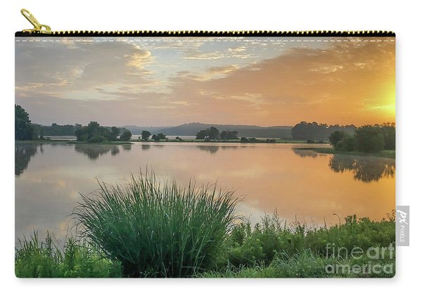 Early Morning Sunrise On The Lake Carry-all Pouch