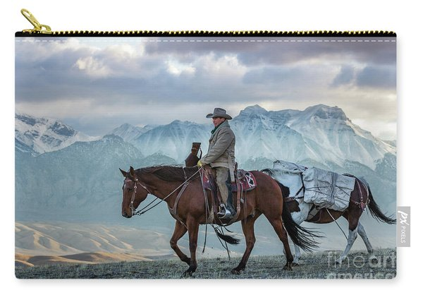 Early October Hunt Wild West Photography Art By Kaylyn Franks Carry-all Pouch