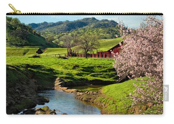 Early Spring In The Valley Carry-all Pouch