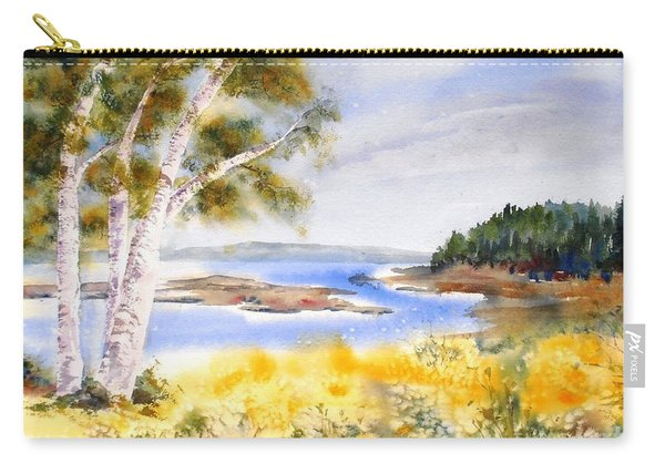 Early Summer Birches Carry-all Pouch
