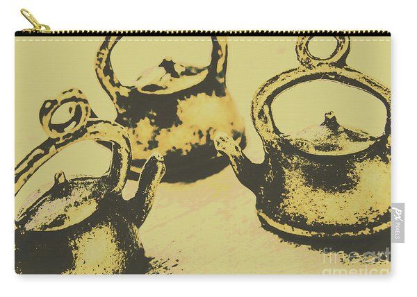 Early Vintage Tea Carry-all Pouch
