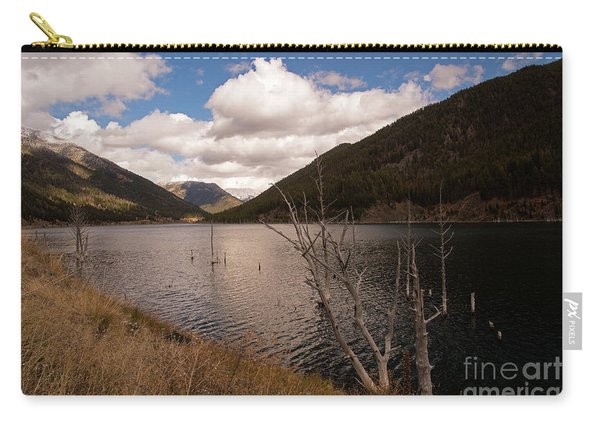 Earthquake Lake Carry-all Pouch