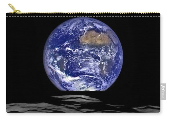 Earthrise As Seen From The Moon Carry-all Pouch