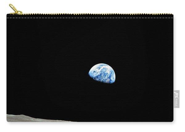 Earthrise - The Original Apollo 8 Color Photograph Carry-all Pouch
