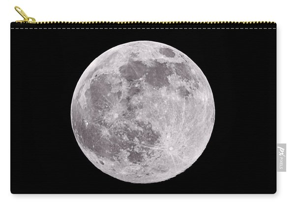 Earth's Moon Carry-all Pouch