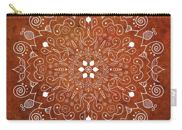 Earthtone Mandala Carry-all Pouch