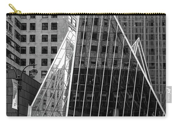 East 42nd Street, New York City  -17663-bw Carry-all Pouch